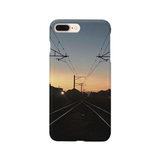 夕焼け。 Smartphone cases