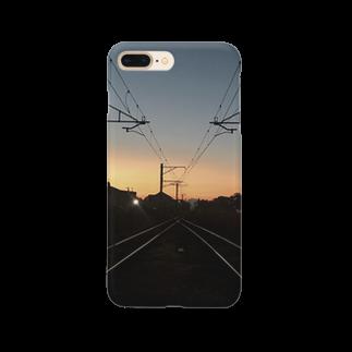 maaaaaru08107の夕焼け。 Smartphone cases