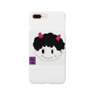 可愛い鬼嫁 Smartphone cases