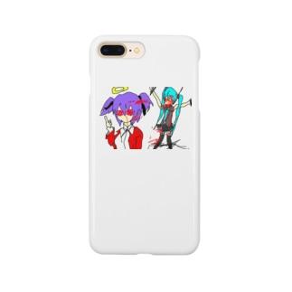 撲殺ネギ女 Smartphone cases