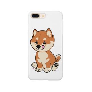 柴こいぬ Smartphone cases