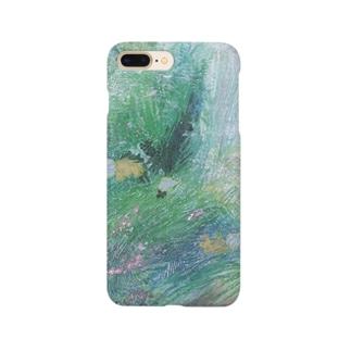 水面のミルフィーユ Smartphone cases