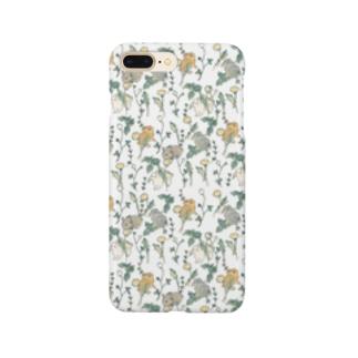 春の庭 Smartphone cases