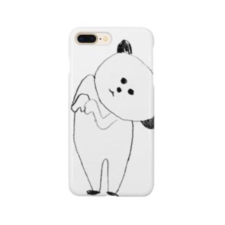 傾きに命かけてるパンダ Smartphone cases