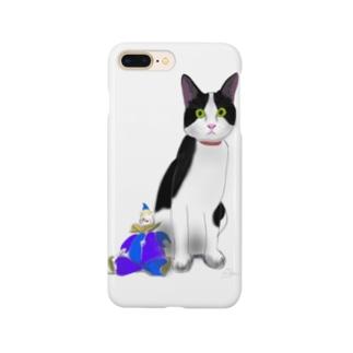 ねことピエロ Smartphone cases