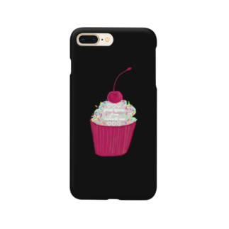 カップケーキ Smartphone cases