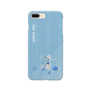 nuwtonの心形蒼天 Smartphone cases