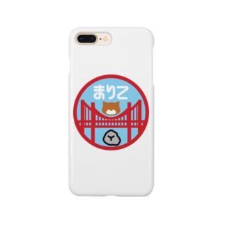 パ紋No.3165 まりこ Smartphone cases