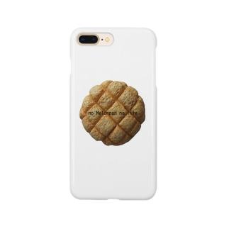 no Melonpan no life(文字入りver) Smartphone cases