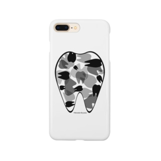 Tooth camo Smartphone cases