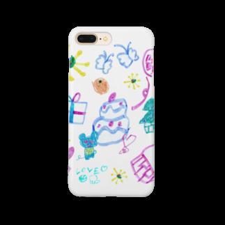 橋本京子のおおきなケーキのおまつり(Karin) Smartphone cases