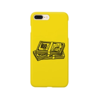 a wad of 100 YEY  Smartphone cases