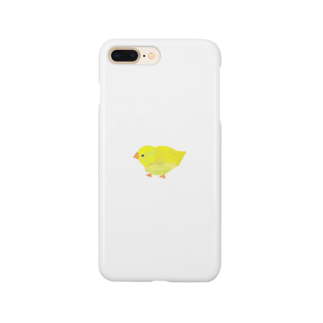 きらきらひかるのきいろい鳥スマートフォンケース