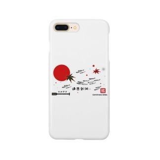 ワカサギ!達古武湖。あらゆる生命たちへ感謝を捧げます。 Smartphone cases
