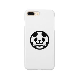 まんまるパンダ Smartphone cases