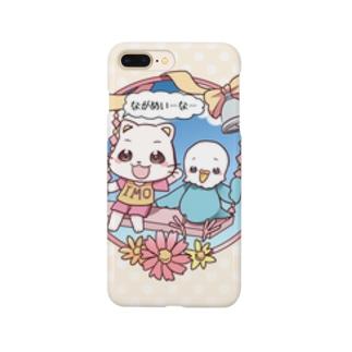 めんちゃん&ぴのちゃん Smartphone cases