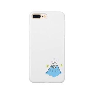 お山のNくんネーム Smartphone cases