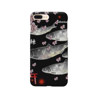 鰊!鹿部【ニシン】生命たちへ感謝を捧げます。  Smartphone cases
