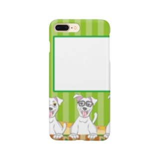 おくれ、おくれwんちゃん Smartphone cases