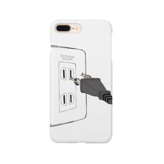 電源コードな二人【EH】 Smartphone cases