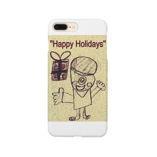 おばけ君のプレゼント Smartphone cases