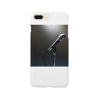 ボーカリスト ステージ マイク スポットライト Smartphone cases