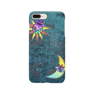 冬の星空 Smartphone cases