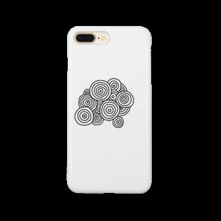 晴田書店のぐるぐる Smartphone cases