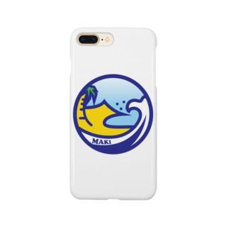 パ紋No.3182 MAKI  Smartphone cases