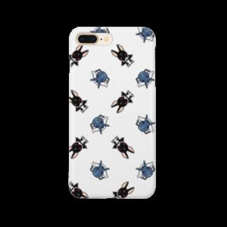 工房あおいてんしの天使犬&悪魔犬 Smartphone cases