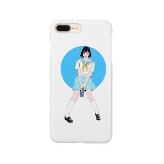 サマーガール Smartphone cases