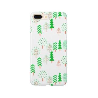 緑の森 Smartphone cases
