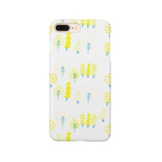 黄色い森 Smartphone cases