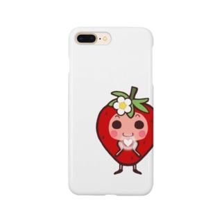 いちご🍓 Smartphone cases