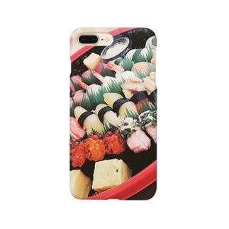 実家で出てきた寿司 Smartphone cases