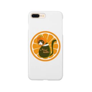 猫みかん Smartphone cases