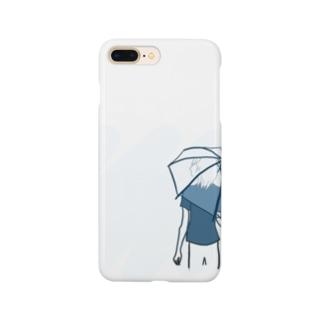 雨ふり Smartphone cases