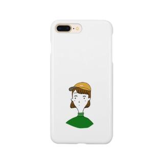キャップ女子 Smartphone cases