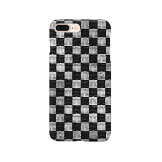 Cherry Checkered スマートフォンケース