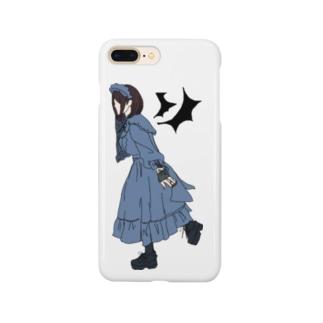 ゴスロリ女子/無地【一ノ瀬彩】 Smartphone cases