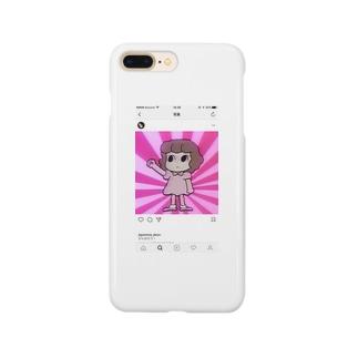 シニカルヒステリーアワーちゃん Smartphone cases