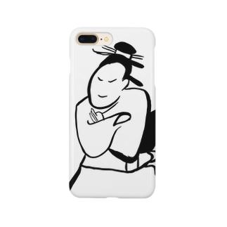 JUNSEN(純仙)江戸 しんみり考える Smartphone Case