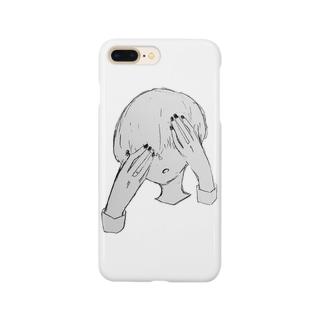 暗闇まっしゅくんのマッシュヘアー Smartphone cases