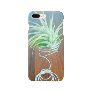 エアプランツ ワイヤーインテリア Smartphone cases