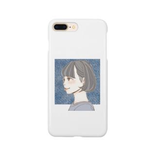 刈り上げ女子 Smartphone cases
