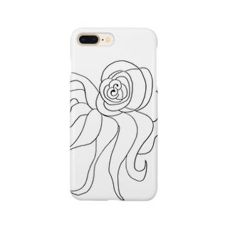 JUNSEN(純仙)すばしっこい軟体動物 Smartphone cases