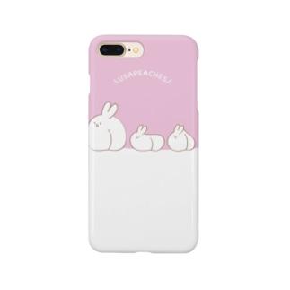 うさぴーちーず Smartphone cases