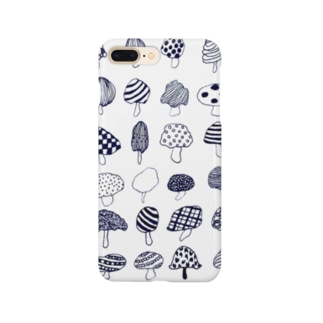 様々なきのこ Smartphone cases