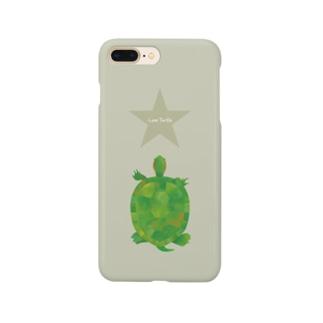 Love Turtle Star サンド Smartphone cases