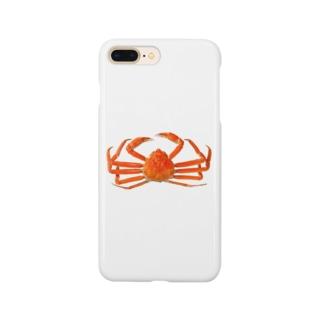 ズワイ蟹 Smartphone cases